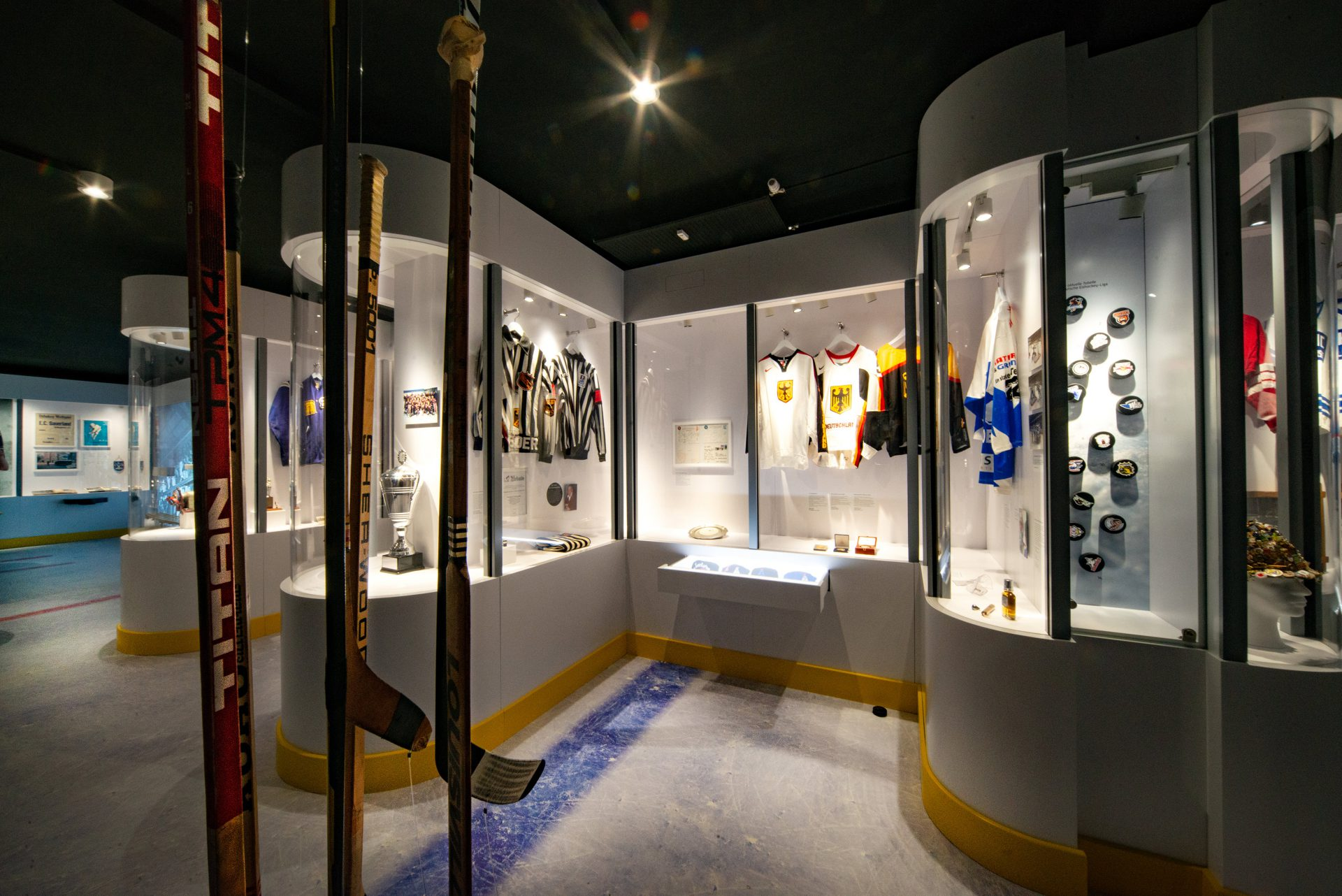 Blick ins Museum